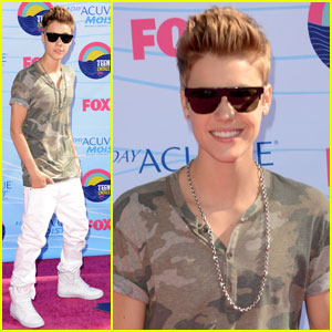 Justin Bieber - Teen Choice Awards 2012
