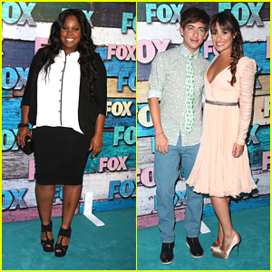 Lea Michele: Fox All-Star Party with Kevin McHale