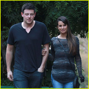 Lea Michele & Cory Monteith: Pace Sweeties