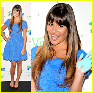 Lea Michele: Valspar Hands For Habitat!
