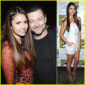 Nina Dobrev: Comic Con Party & Panel!