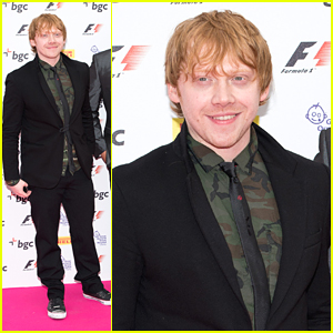 Rupert Grint: Olympic Torch Runner