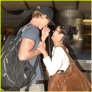 Vanessa Hudgens: LAX Landing with Austin Butler