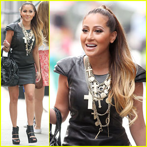 Adrienne Bailon: Ciprani Lunch Time