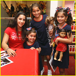 Aly Raisman: American Girl Place Appearance