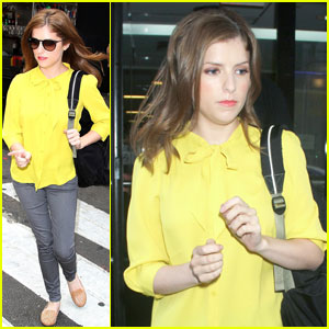 Anna Kendrick: Times Square Darling