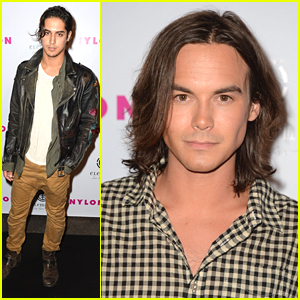 Tyler Blackburn & Avan Jogia: Nylon Mag Party People
