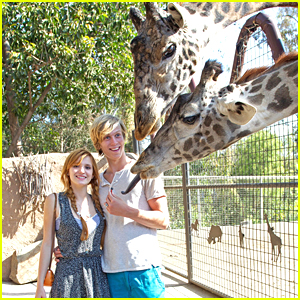 Bella Thorne: San Diego Zoo with Tristian Klier