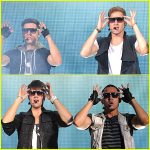 Big Time Rush Make It Rain in West Palm Beach