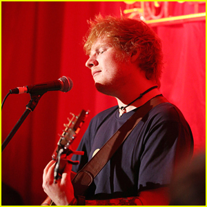 Ed Sheeran Performing at