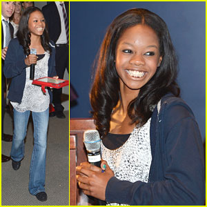 Gabby Douglas: Citi Field Smiley