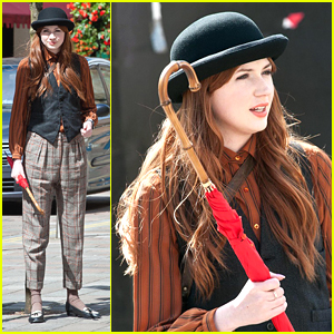Karen Gillan: Bowler Hat Beauty
