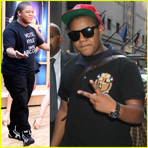 Kyle Massey: 'Good Morning America' Arrival