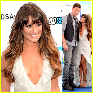 Lea Michele & Cory Monteith: Do Something Award Winners!