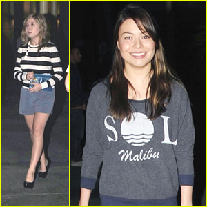 Miranda Cosgrove &#038; Jennette McCurdy: Movie Night!