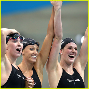 Missy Franklin: Gold Medal for 4x200m Freestyle Relay at 2012 Olympics!