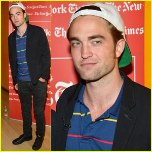 Times Talk Presents Robert Pattinson!