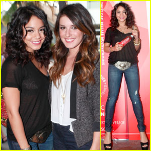 Vanessa Hudgens: Get Activated Pop-Up Shop Opening!