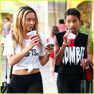 Willow Smith & Stella Hudgens: Calabasas Cuties
