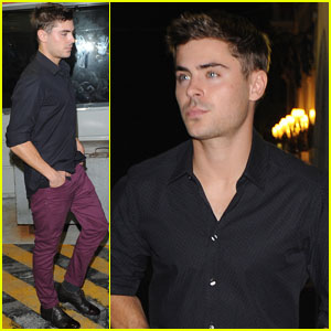 Zac Efron: Venice Film Festival Heartthrob