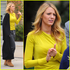 Blake Lively Gets Congrats Toast From 'Gossip Girl'