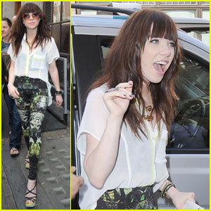 Carly Rae Jepsen: BBC Radio 1 Appearance!