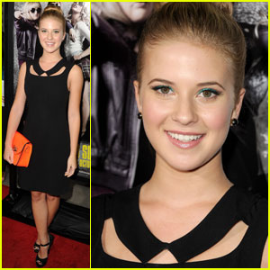 Caroline Sunshine: 'Pitch Perfect' Premiere with Adam Irigoyen & Billy Unger