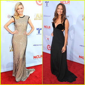 Christian Serratos &#038; Maiara Walsh: ALMA Awards 2012