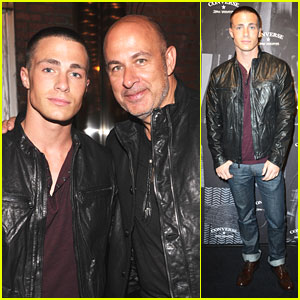Colton Haynes: 'The Weapon' Launch at New York Fashion Week 2012