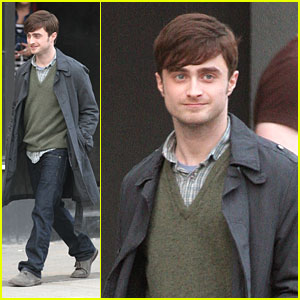 Daniel Radcliffe: Back To Filming on 'The F Word'