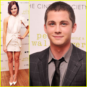 Emma Watson & Logan Lerman: 'Perks' Screening in NYC!