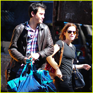 Emma Watson & Will Adamowicz: Taxi Ride For Two