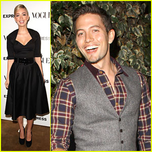 Jackson Rathbone & Christian Serratos Celebrate The 'Scenemakers'