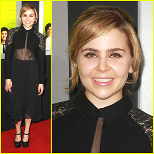 Mae Whitman: 'Perks' Premiere in Hollywood