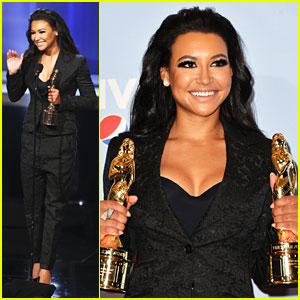 Naya Rivera: Double Winner at ALMA Awards 2012