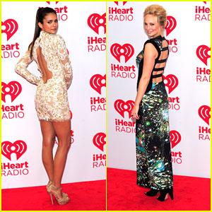 Nina Dobrev & Candice Accola: iHeartRadio Music Festival 2012