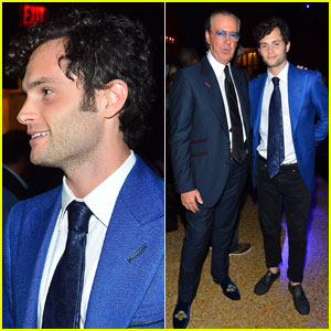 Penn Badgley: Angelo Galasso Polso Party
