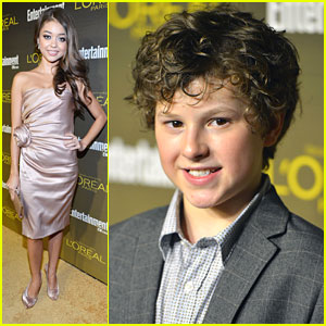 Sarah Hyland & Nolan Gould: EW Emmy Party Pair