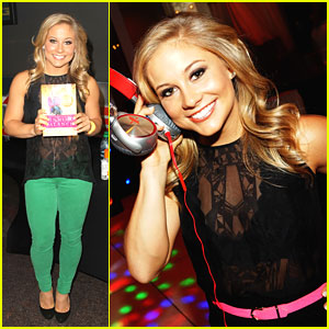 Shawn Johnson: Nylon Dinner Darling