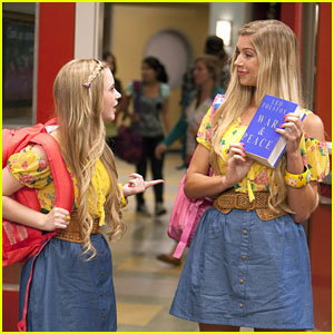 Sierra McCormick & Allie DeBerry Dress Alike for 'A.N.T. Farm'