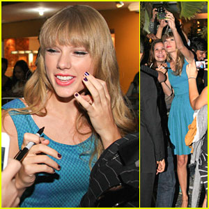 Taylor Swift: Fan Friendly in Brazil