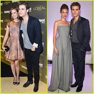 Torrey DeVitto & Paul Wesley Host H-Couture Fashion Show 2012