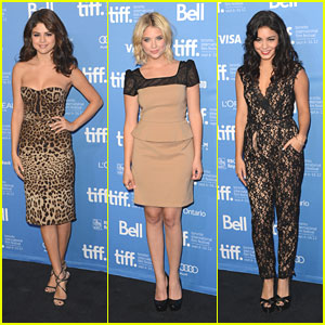 Vanessa Hudgens &#038; Ashley Benson: TIFF Photo Call with Selena Gomez