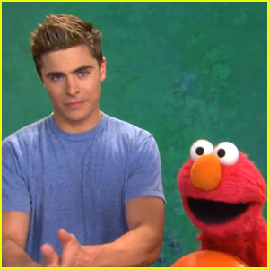 Zac Efron Teaches Elmo Patience on 'Sesame Street' - WATCH NOW