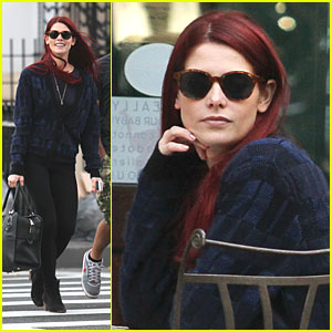 Ashley Greene Goes Ginger!