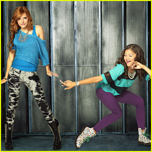 Bella Thorne &#038; Zendaya: New 'Shake It Up' Promo Pics!