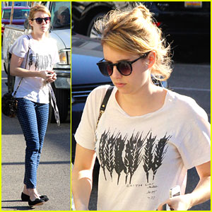 Emma Roberts' #1 Fashion Rule: No Sweatpants Outside The House