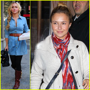 Hayden Panettiere: 'Nashville' Press in NYC