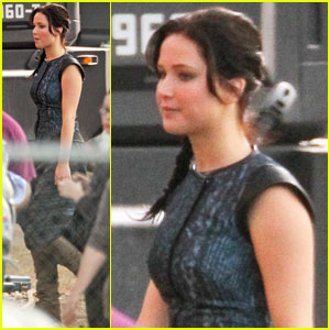 Jennifer Lawrence 'Catches Fire' with Josh Hutcherson!