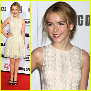 Kiernan Shipka: 'The Walking Dead' Premiere